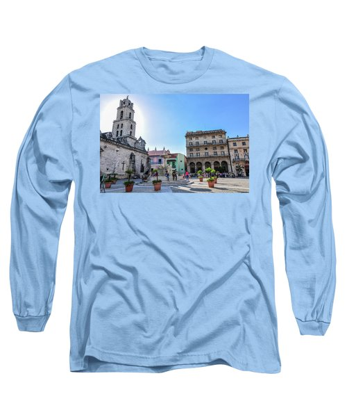 Plaza De San Francisco De Asis Long Sleeve T-Shirt