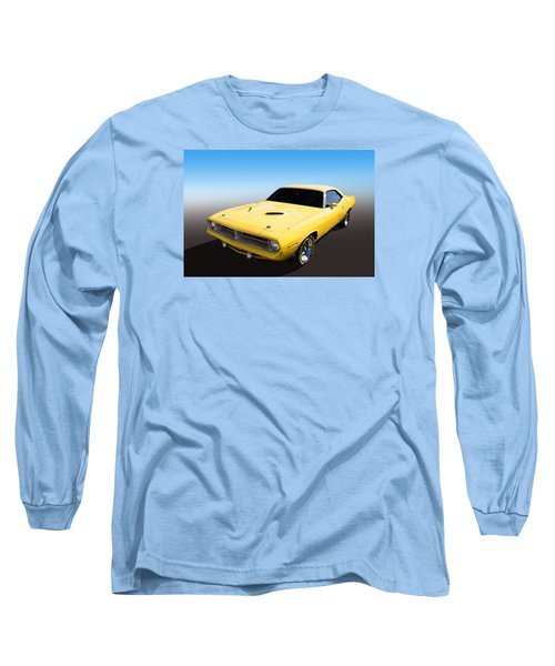 Plymouth Muscle Long Sleeve T-Shirt by Keith Hawley