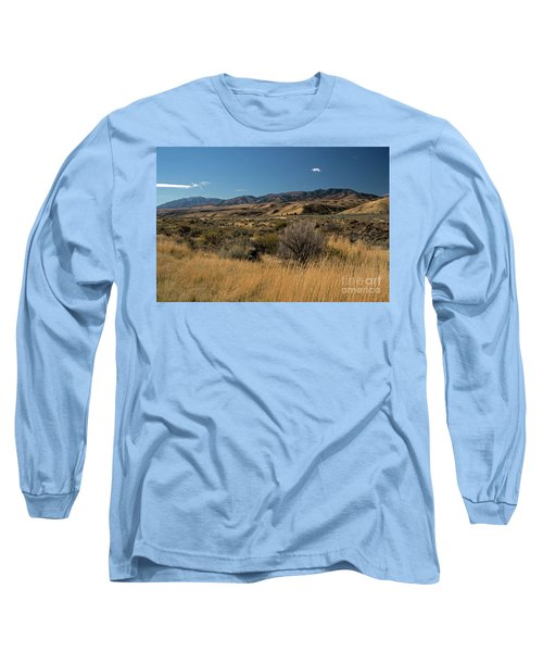 Pocatello Area Of South Idaho Long Sleeve T-Shirt by Cindy Murphy - NightVisions
