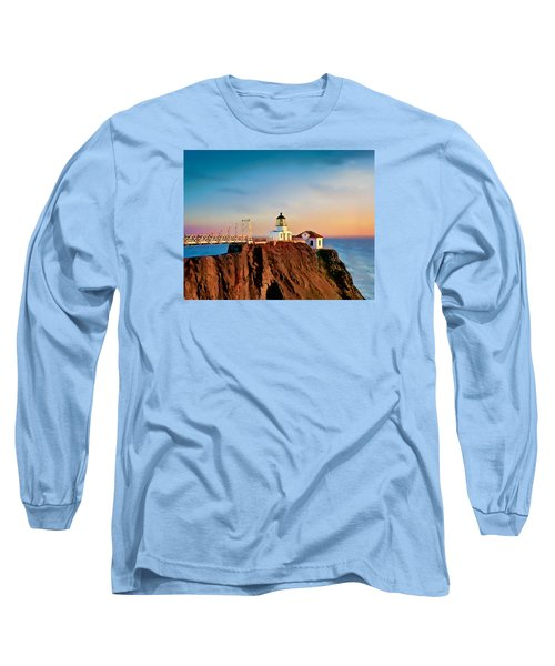 Point Bonita Lighthouse Long Sleeve T-Shirt by Douglas MooreZart