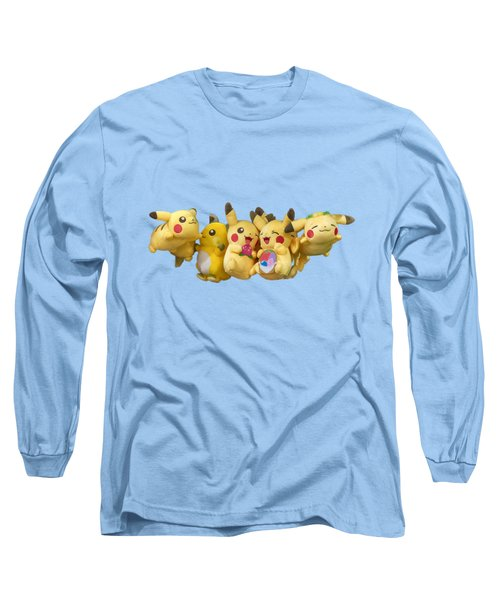 Pokemon Fliers Long Sleeve T-Shirt by John Haldane