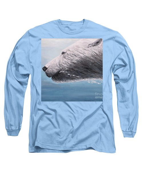 Polar Bear Splash Long Sleeve T-Shirt