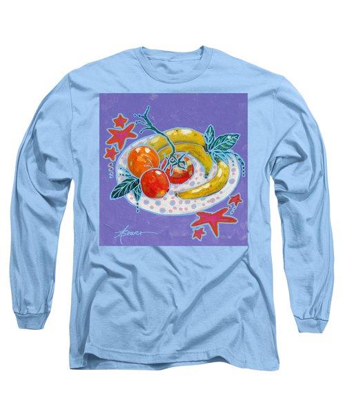 Polka-dot Plate  Long Sleeve T-Shirt
