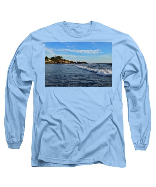 Poneloya Beach Before Sunset Long Sleeve T-Shirt