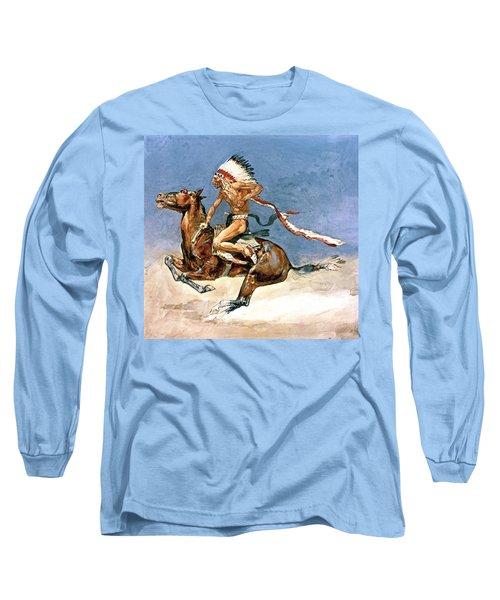 Pony War Dance Long Sleeve T-Shirt