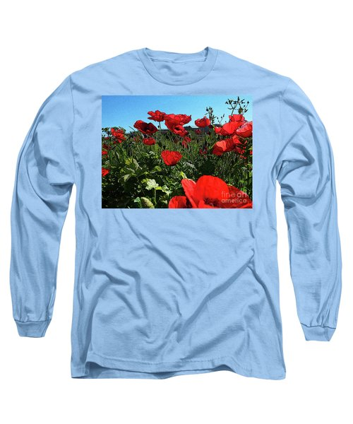 Poppies. Long Sleeve T-Shirt