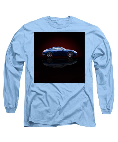 Porsche 911 Carrera - Blue Long Sleeve T-Shirt
