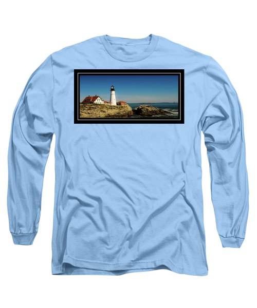 Portland Head Lighthouse 7 Long Sleeve T-Shirt by Sherman Perry