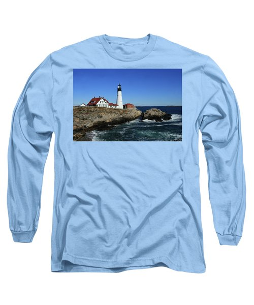 Portland Head Lighthouse Long Sleeve T-Shirt