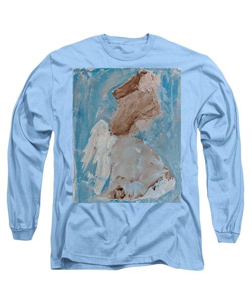 Portrait Of An Angel Long Sleeve T-Shirt