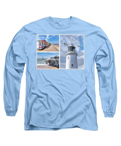 Postcard From Southwold Long Sleeve T-Shirt