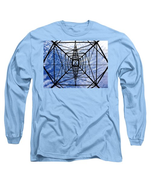 Powerful Geometry Long Sleeve T-Shirt
