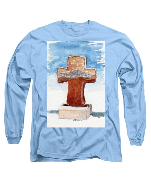 Prayer Cross Long Sleeve T-Shirt