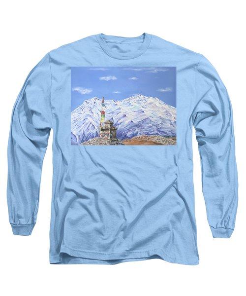 Prayer Flag Long Sleeve T-Shirt