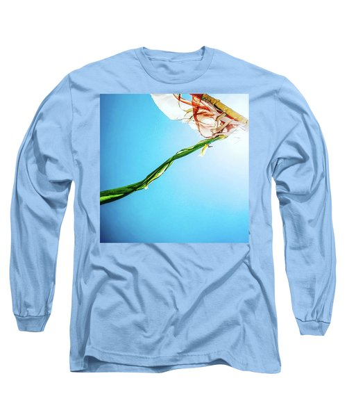 Prayer Flags Blowing In The Wind Long Sleeve T-Shirt