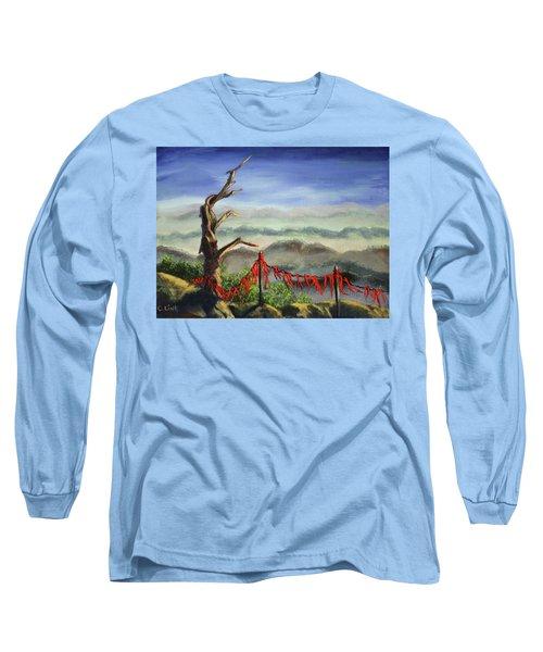 Prayer Flags Long Sleeve T-Shirt