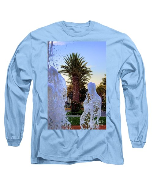 Long Sleeve T-Shirt featuring the photograph Pregnant Water Fairy by Mariola Bitner