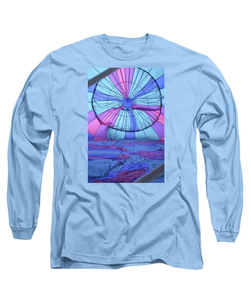 Long Sleeve T-Shirt featuring the photograph Preparing For Lift Off by Linda Geiger