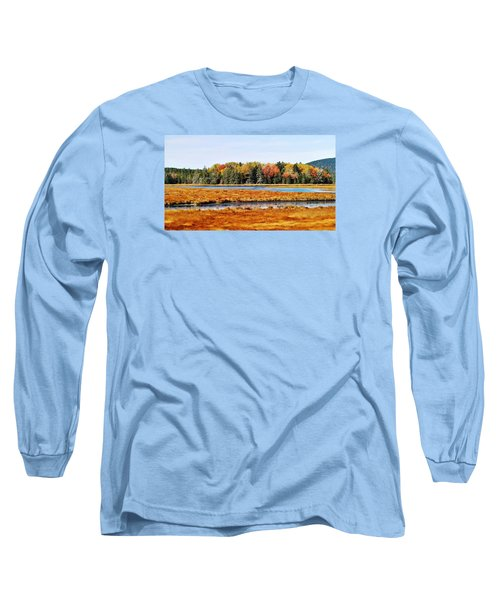 Pretty Marsh 2 Long Sleeve T-Shirt by Mike Breau