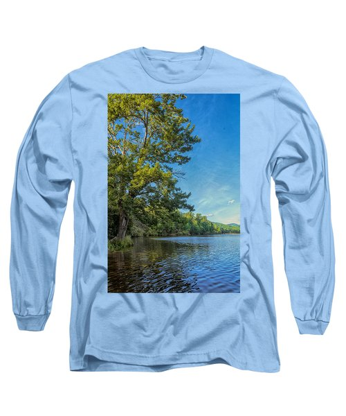 Price Lake Long Sleeve T-Shirt by Swank Photography