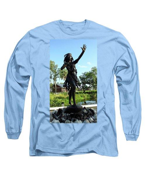 Princess Ulele Statue Long Sleeve T-Shirt