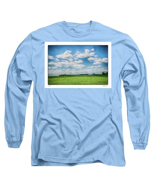 Prison Barn Long Sleeve T-Shirt by R Thomas Berner