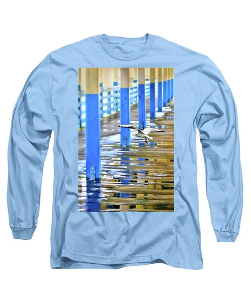 Long Sleeve T-Shirt featuring the photograph Puddles by Diana Angstadt