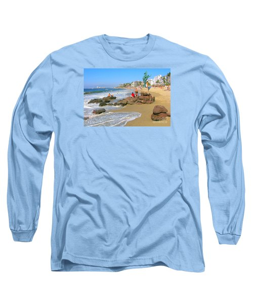 Puerto Vallarta Beachfront Long Sleeve T-Shirt