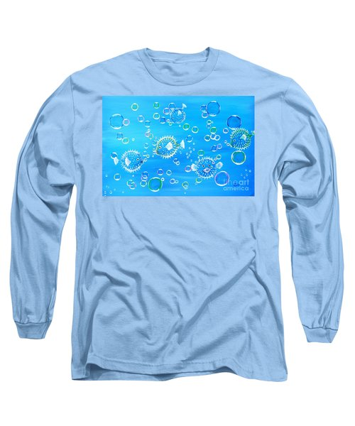 Pufferfish Playtime Long Sleeve T-Shirt