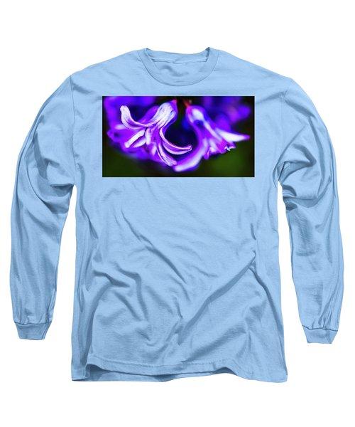 Purple Bells Long Sleeve T-Shirt