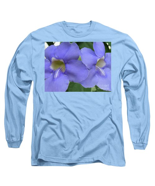Purple Flower Picture Perfect Long Sleeve T-Shirt
