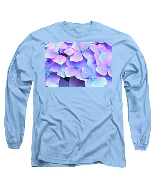 Purple Hydrangeas Long Sleeve T-Shirt