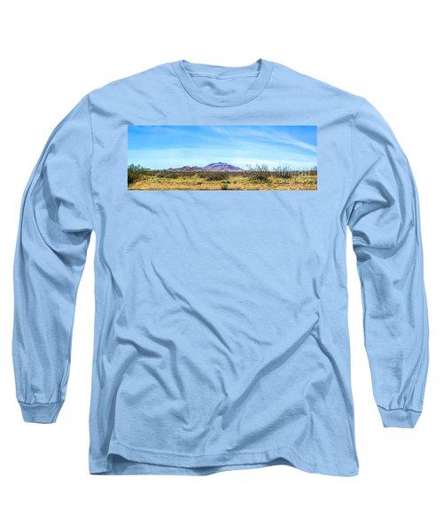Purple Mountain Panoramic Long Sleeve T-Shirt