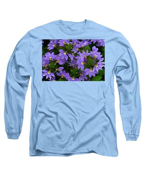 Purple Perspective Long Sleeve T-Shirt by Shari Jardina
