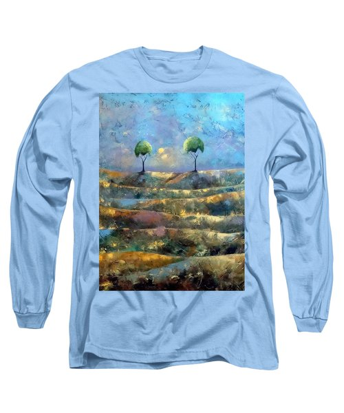 Purple Trees Long Sleeve T-Shirt