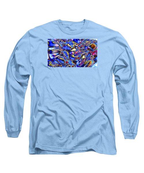 Quantum Entangled Soul... Long Sleeve T-Shirt by Nina Stavlund