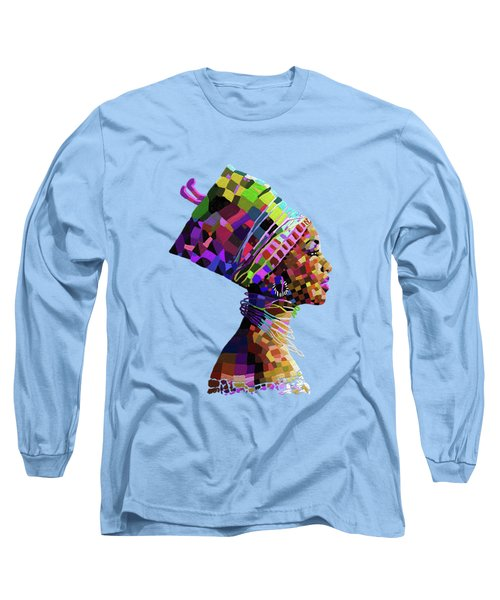 Queen Nefertiti Long Sleeve T-Shirt
