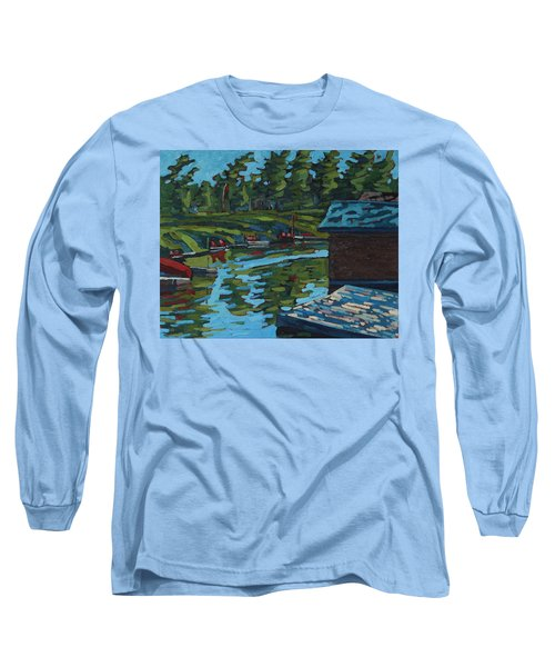 Quiet Morning At Chaffeys Long Sleeve T-Shirt