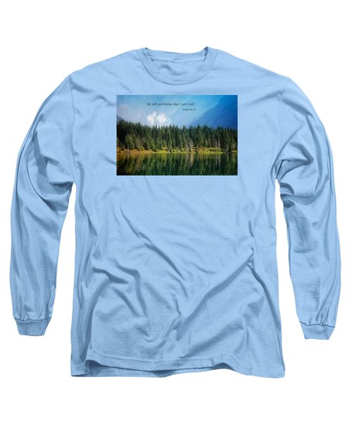 Long Sleeve T-Shirt featuring the photograph Quiet Reflections 2 by Lynn Hopwood