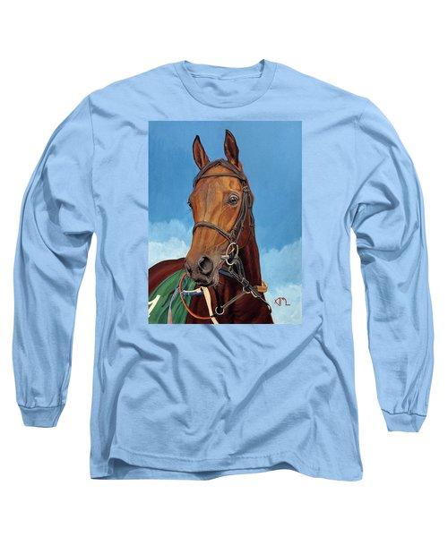 Radamez - Arabian Race Horse Long Sleeve T-Shirt