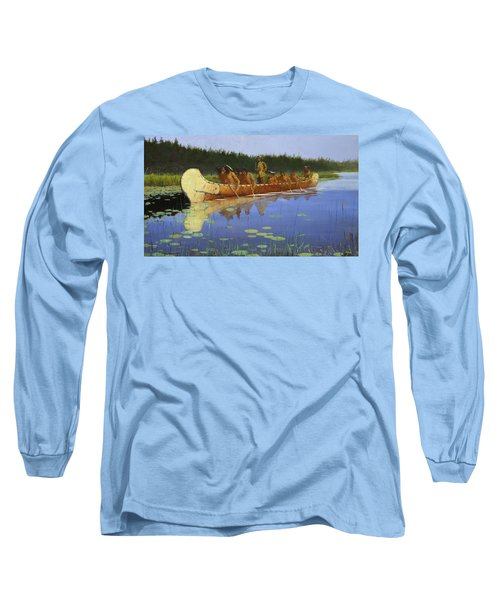 Radisson And Groseilliers Long Sleeve T-Shirt