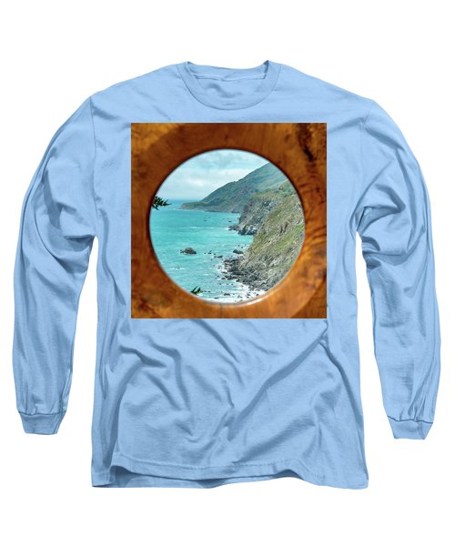 Ragged Point Long Sleeve T-Shirt