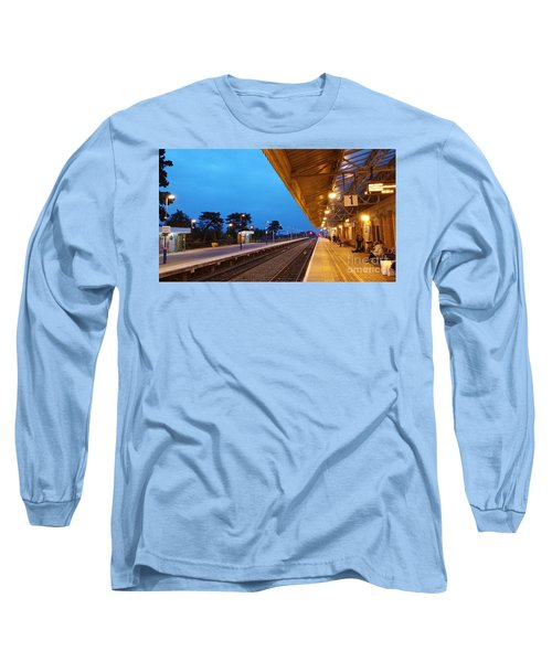 Railway Vanishing Point Long Sleeve T-Shirt