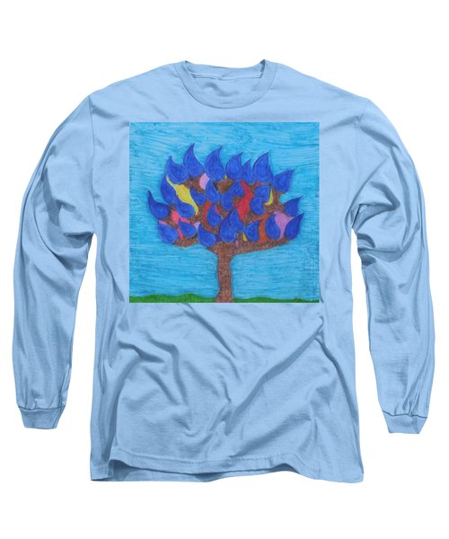 Rain Beauty Tree Long Sleeve T-Shirt
