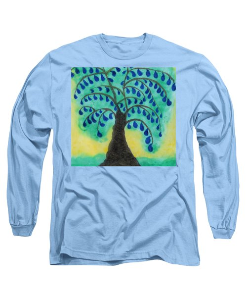 Rain Drop Umbrella Tree Long Sleeve T-Shirt
