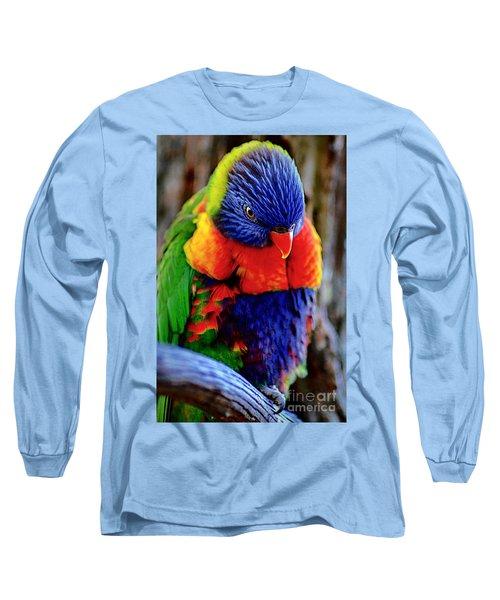 Long Sleeve T-Shirt featuring the photograph Rainbow by Adam Olsen