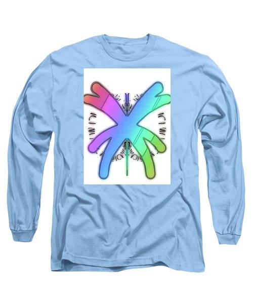 Rainbow Bug Long Sleeve T-Shirt