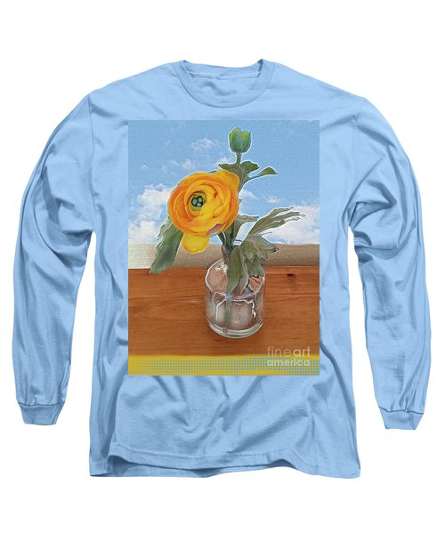 Ranunculus Spring Long Sleeve T-Shirt by Alexis Rotella