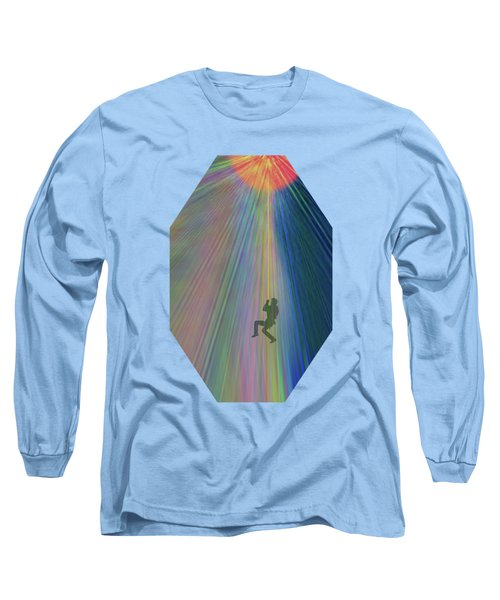 Reach Out And Touch Confidence Long Sleeve T-Shirt by AugenWerk Susann Serfezi