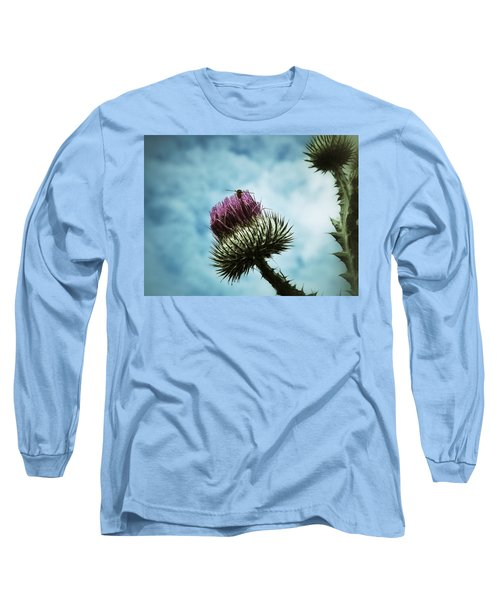 Long Sleeve T-Shirt featuring the photograph Ready For Take-off by Karen Stahlros